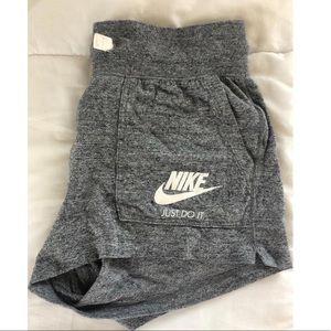 NWOT size small Grey Nike shorts!